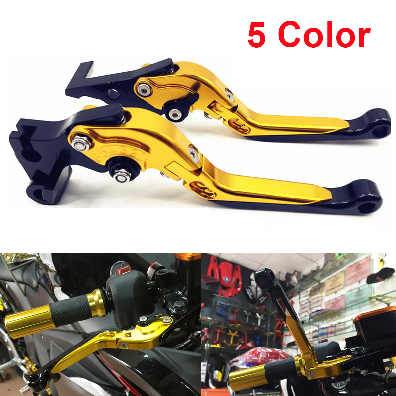 5 Color CNC Aluminum Foldable Extendable Motorcycle Brake Clutch Levers For Yamaha YZF R3 2015 2016 foldable brake clutch levers for yamaha 2002 2003 yzf r1