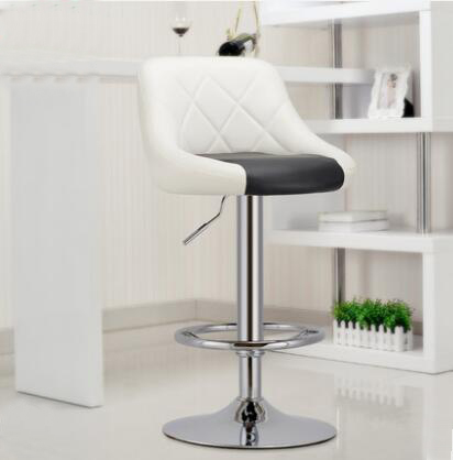 где купить YINGYI Free Shipping Modern Dining Bar Chair White Black Red Color по лучшей цене