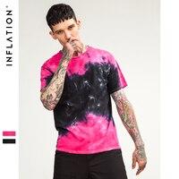 インフレ2018夏新しいファッションoネックタイダイtシャツ男tシャツカップルtシャツ快適なヒップホップユニセックストップス8110 s