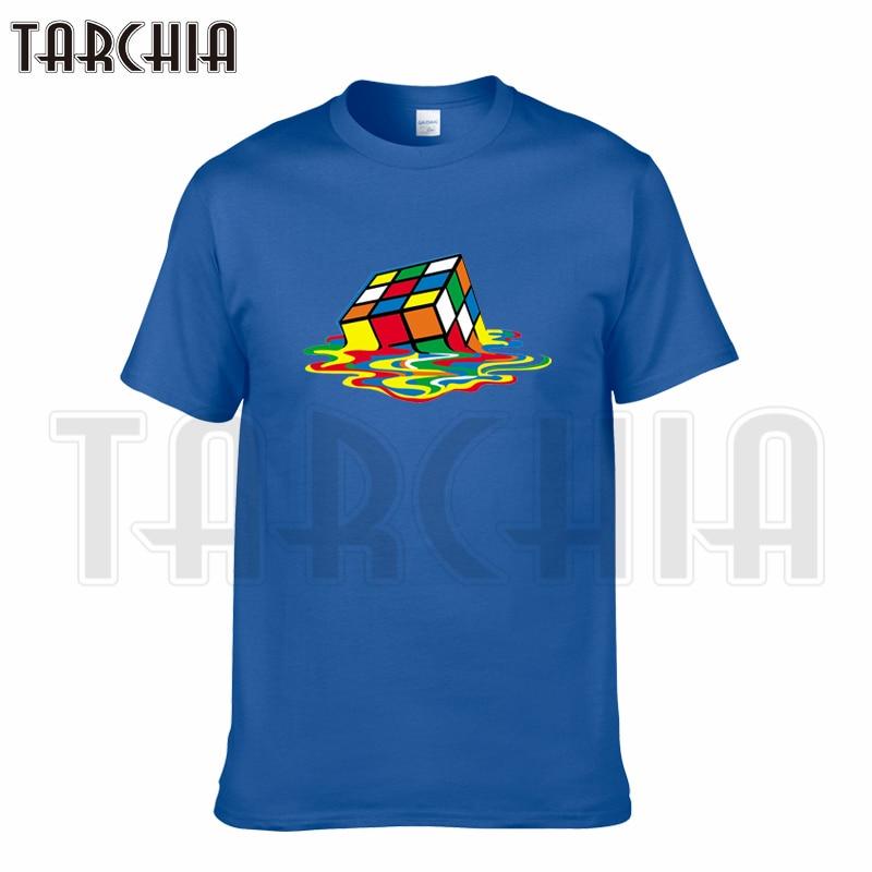 TARCHIA 2019 t-shirt cotton tops tee The Big Bang Sheldon Cube funny  men short sleeve boy casual homme tshirt t plus fashion Футболка