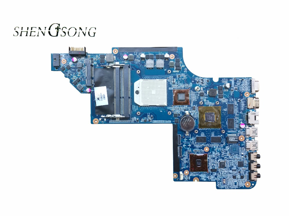 640452-001 Free Shipping FOR HP DV6 DV6-6000 series Laptop Motherboard PCB:HPMH-41-AB6300-D00G Mainboard SOCKET S1 100% tested for hp 6510b series laptop motherboard 446904 001 mainboard free shipping