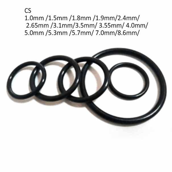 O ringe 6 mm x 1mm