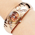 Venta caliente de oro rosa reloj de pulsera relojes de las mujeres relojes de lujo reloj de señoras del reloj hora reloj mujer del relogio feminino montre femme