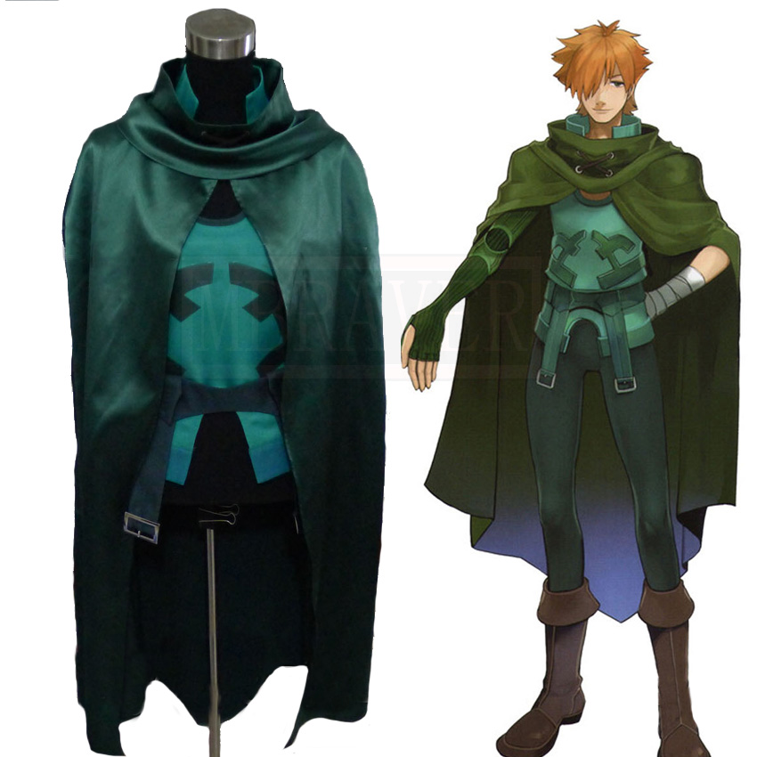 Fate/EXTRA Archer Robin Hood Full Sets Cosplay Costumes robin hood bk d
