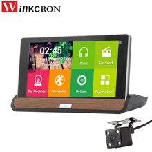 7″ Andriod GPS Navigation Car DVR Camera wifi 16GB ROM Dual Lens Full HD 1080p Parking dvr Video Recorder DashCam Camcorder