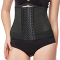 Waist trainer corset hot shapers modeling strap cincher women slimming sheath body belt fajas bodysuit belly girdle shapewear