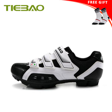 Tiebao Cycling Shoes 2018 white Sports Outdoor Breathable Mountain MTB Bike Bicycle Lock Shoes Riding Shoes Men sneakers Women boodun breathable mountain cycling shoes leisure sports outdoor mtb road bike bicycle lock riding shoes women