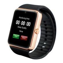 Relojes de los hombres mujeres reloj Inteligente Bluetooth gps del teléfono del Reloj Digital de Pulsera para IOS Andro Inteligente Reloj digital de reloj