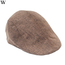 63eb7d96eaa Fashion Herringbone Tweed Gatsby Newsboy Cap Men W Wool Ivy Hat Golf  Driving Flat Cabbie Flat