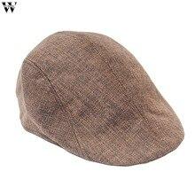 Fashion Herringbone Tweed Gatsby Newsboy Cap Men W Wool Ivy Hat Golf  Driving Flat Cabbie Flat f71976be07b