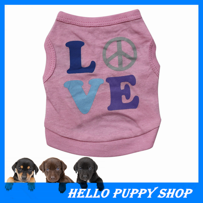 Pet Dog Apparel Doggy POLO Shirts Puppy Sports Clothes For Small Dog Cotton T-Shirts Clothing