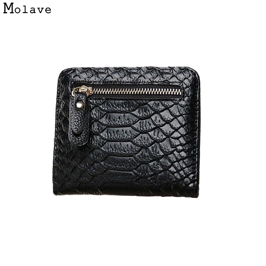Naivety New Long Wallet Women Serpentine Pattern PU Leather Zipper Card Purse Bag Multifunction Monedero 11S60930