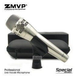 Klasa A wydanie specjalne KSM8N profesjonalny wokal na żywo dynamiczny przewodowy mikrofon KSM8 ręczny mikrofon do nagrywania studyjnego Karaoke