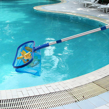 New Arrival Swimming Pool Accessories Skimmer Net with Adjustable Telescopic Pole Deep Bag Water Surface Debris Cleaning