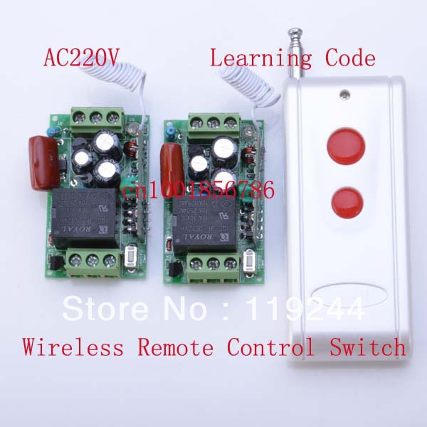 Hot!1000M Distance 220V 1CH 10A Learning Code RF Wireless Remote Control Power Switch System M4/T4/L4 output state is adjusted power system power system l carnitine fire 54000 1000