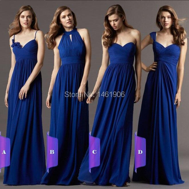 Sapphire Blue Bridesmaid Dresses - Wedding Dress Ideas