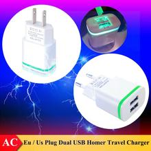 (EU / US Plug) Dual USB 5V/2.1A AC Travel Charger for Vernee Mars / Mars Pro , Appollo / Apollo X / Apollo Lite , Thor / Thor E(China)