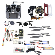 JMT DIY FPV Drone Quadcopter 4-axle Aircraft Kit 450 Frame PXI PX4 Flight Control 920KV Motor GPS AT10 Transmitter Props
