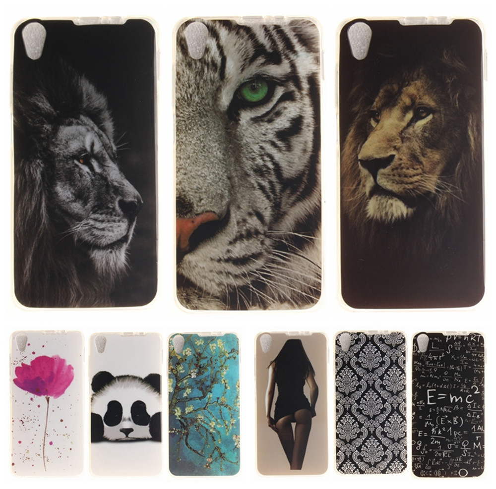 Cartoon <font><b>Phone</b></font> <font><b>Case</b></font> for Coque Lenovo S850 S850T Soft Silicone Cover for Lenovo S 850 <font><b>Panda</b></font> Tiger Lion TPU Back Protective <font><b>Cases</b></font>