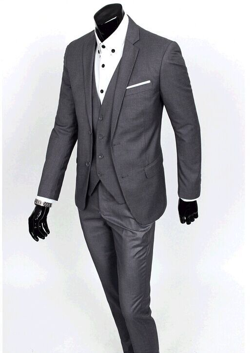Fashion Casual Commerce Menswear Suits Mens Prom Suit 2015 New ...