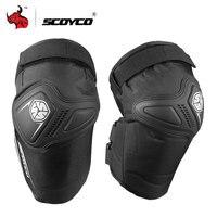 SCOYCO мотоциклетные наколенники Мотокросс защитныйнаколенник, щитки MTB лыжный Защитное снаряжение наколенники для мотоцикла наколенник под...