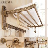 European antique towel rack towel rack toilet storage
