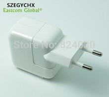 Szegychx Новый 10 Вт 5,1 В 2.1A Micro USB Мощность ЕС Зарядное устройство, сетевой адаптер мобильный телефон, для iPad 2/3/4 Air Air2 Pro, для iPod Зарядное устройство