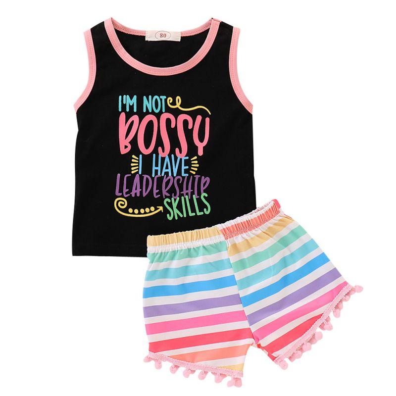 Sets, Sleeveless, Fashion, Tassel, Girls, Cotton
