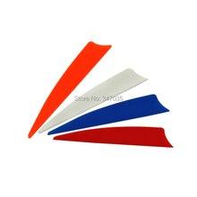 100 pcs/lot 3 inch Shield TPU Vane Flecthing For Arrow Hunting Archery Bow – Free shipping