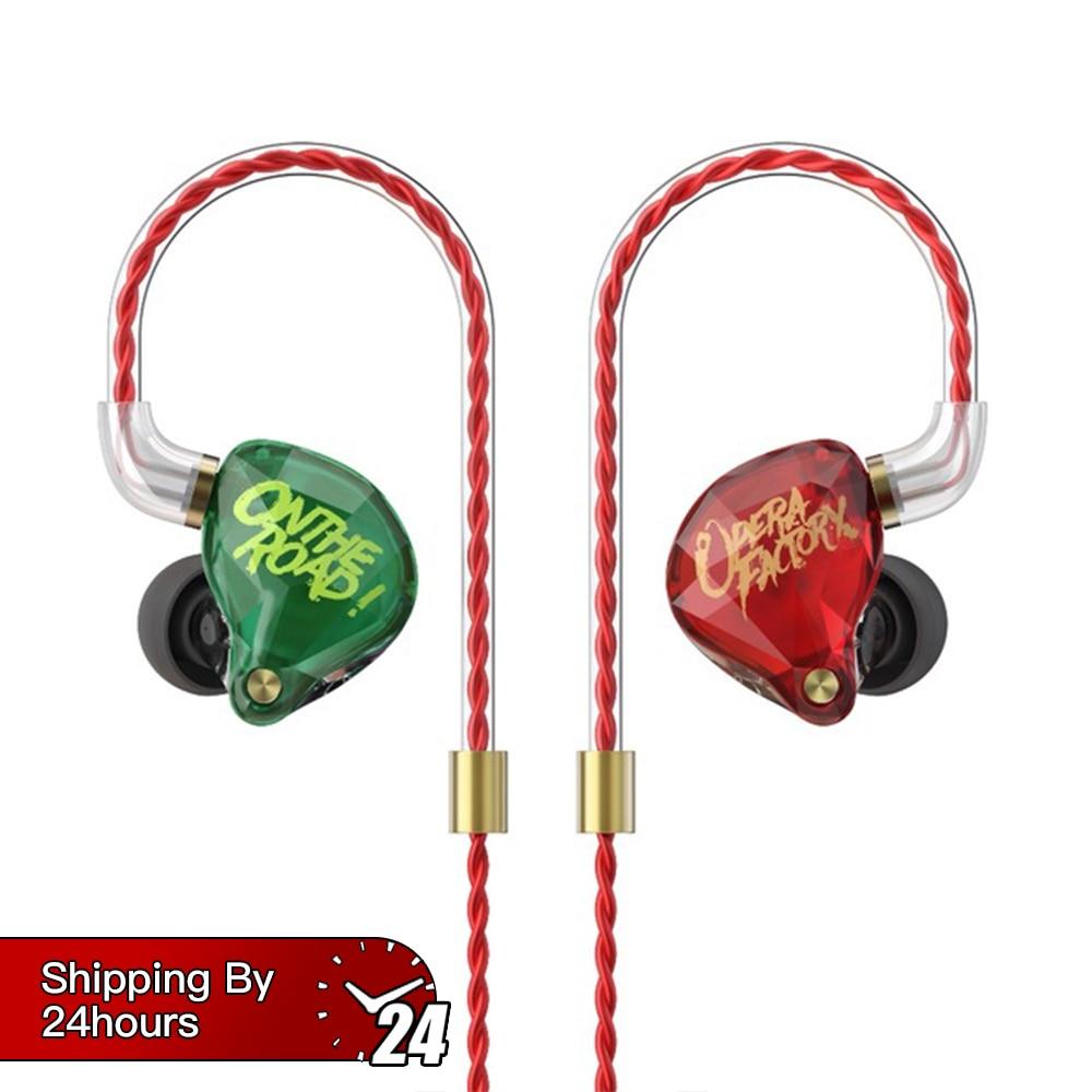 OM1 100 Original kulaklik wired earphones 3 5mm In Ear Earphone micphone With 2pin replacement cable