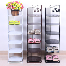 Continental Iron floor full translation shoe rack simple multi- layer slippers storage angle bracket