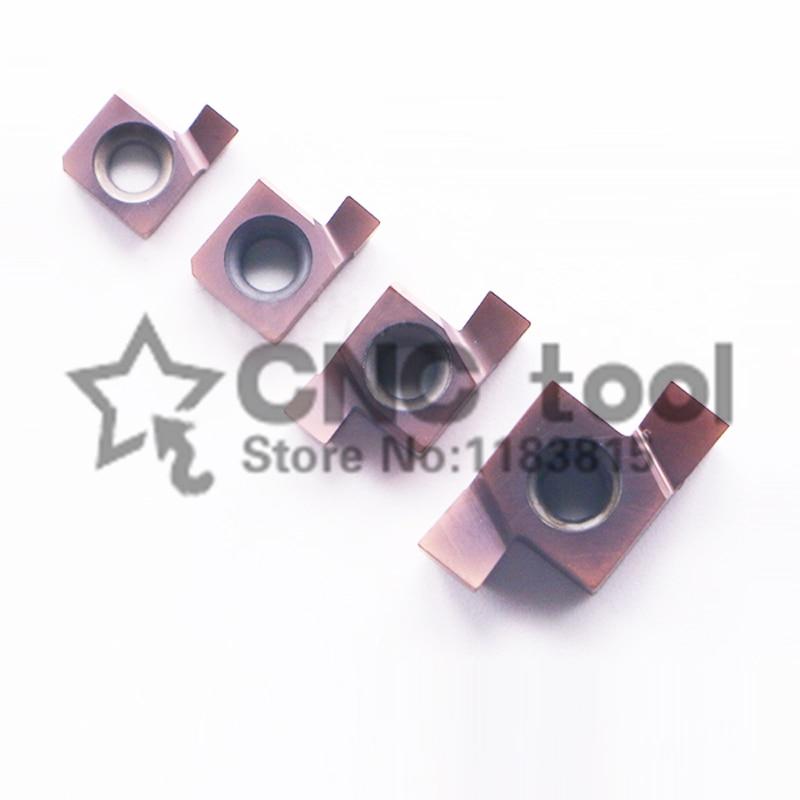 10PCS 6GR 7GR 8GR 9GR 100 125 150 200 250 300 Inside Groove Carbide Turning Inserts
