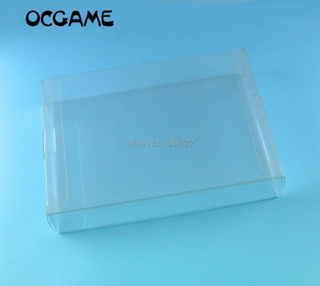OCGAME Cho Máy Chơi Game Nintendo Hộp Trong Suốt Dành Cho SNES N64 Hộp Trò Chơi Bảo Vệ Ốp Lưng CIB Trò Chơi Nhựa Thú Cưng Bảo Vệ 100 cái/lốc
