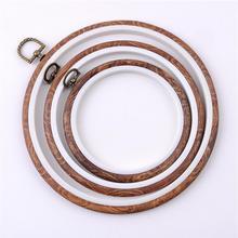 Фоторамка для вышивки крестиком кольцо для вышивки круг набор для шитья рамка для рукоделия