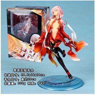 Doll Japanese Figure Inori Guilty Crown Birthday-Gift Christmas Sexy Anime Toy Yuzuriha