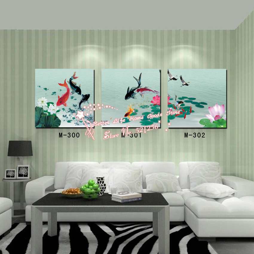 Compare Prices On Koi Pond Painting Online Shopping Buy Low Price Koi Pond Painting At Factory