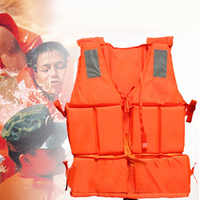 Professional Life Jacket Swimwear Polyester Life Vest Colete Salva-vidas for Water Sports Swimming Drifting Surfing