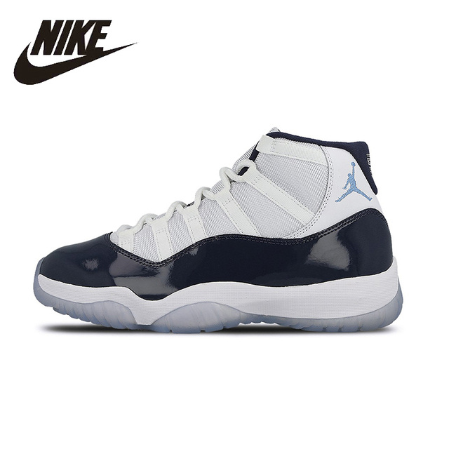 89568787db3 ... discount nike air jordan 11 unc original mens basketball shoes  stability footwear super light support sports