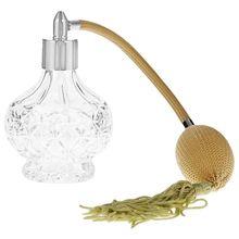 Frasco de Perfume clásico, atomizador de Perfume largo, regalos, botellas de vidrio vaporizadoras para mujer de 100 ml