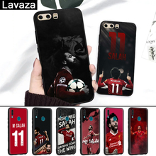 Lavaza Egypt soccer player Mohamed Silicone Case for Huawei P8 Lite 2015 2017 P9 2016 Mini P10 P20 Pro P Smart 2019 P30 Pro Lite все цены