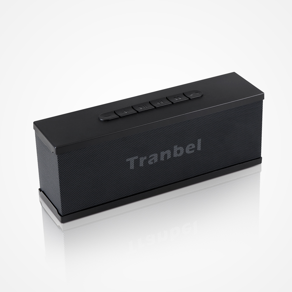 tranbel Portable Wireless Bluetooth waterproof Speaker 7W Loud Speaker with perfect Stereo sound 4000mah