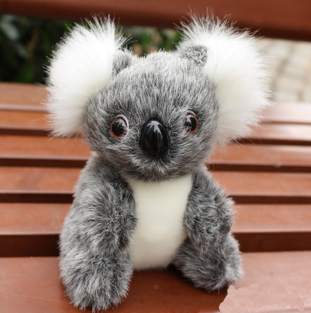 16CM New Arrival Super Cute Small Koala Bear Plush Toys Adventure Koala Doll Birthday Christmas Gift PT024 4