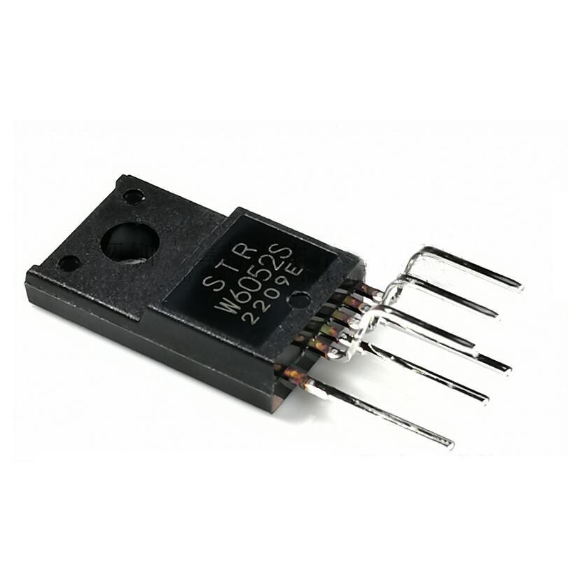 5pcs STRW6052S TO220F-6 W6052S TO-220F STRW6052 TO-220F New Original