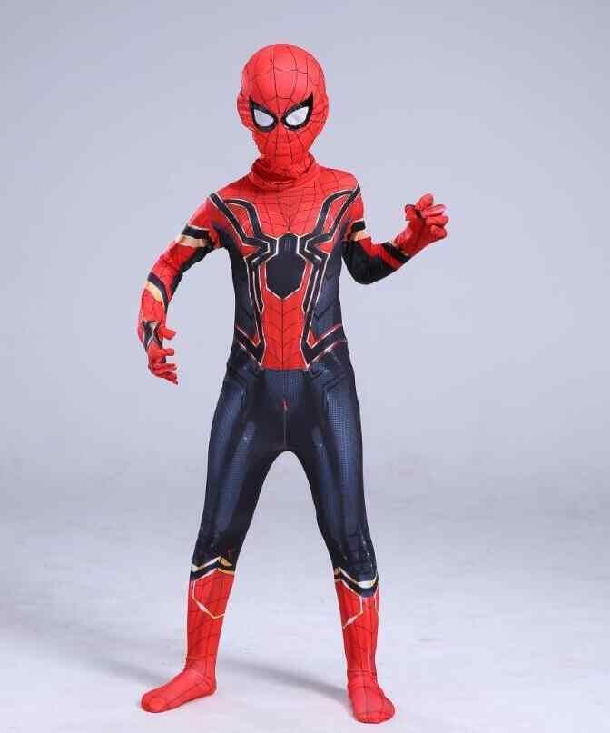 Menakjubkan Besi Kostum Anak-anak Dewasa Baju Sesuai dengan Anak-anak Cosplay Halloween Kostum untuk Anak-anak Anak