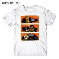 2017 New Fasahion Men T Shirt Guardians Of The Galaxy Print T Shirt O Neck The