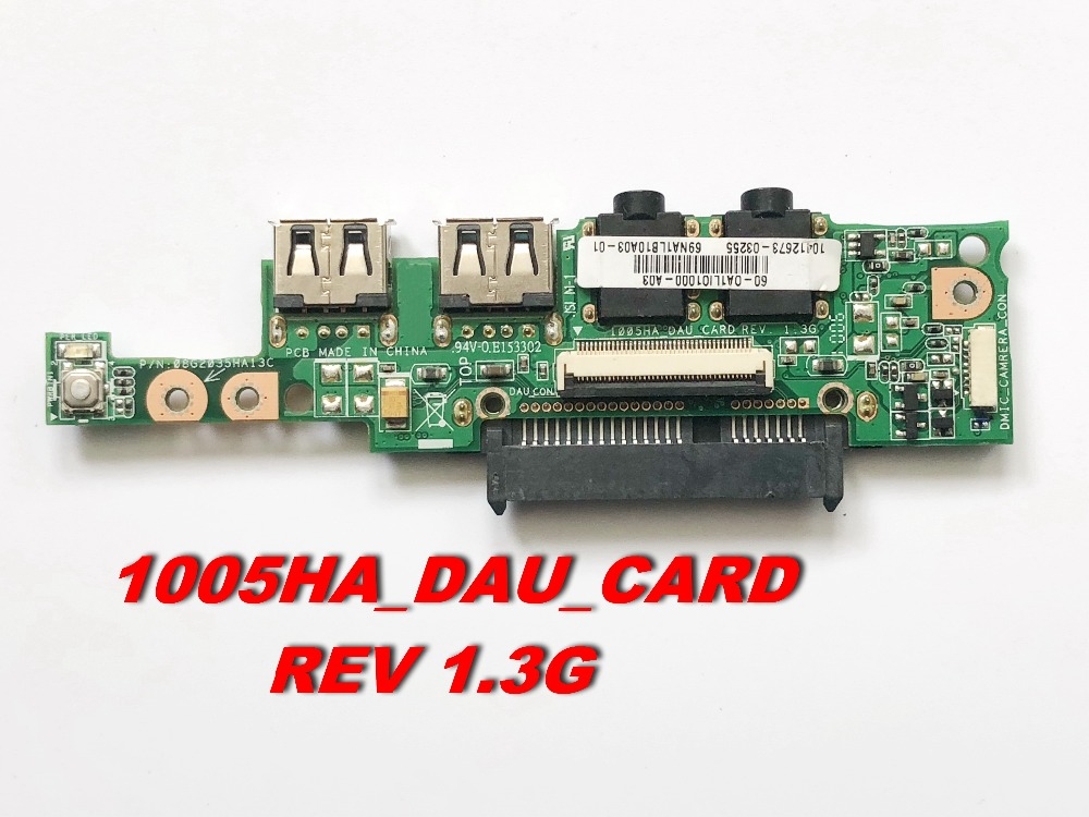 US $10 92 9% OFF|Original FOR ASUS 1005HA Audio Hard HDD USB LAN Board  1005HA_DAU_CARD REV 1 3G Free shipping-in Computer Cables & Connectors from