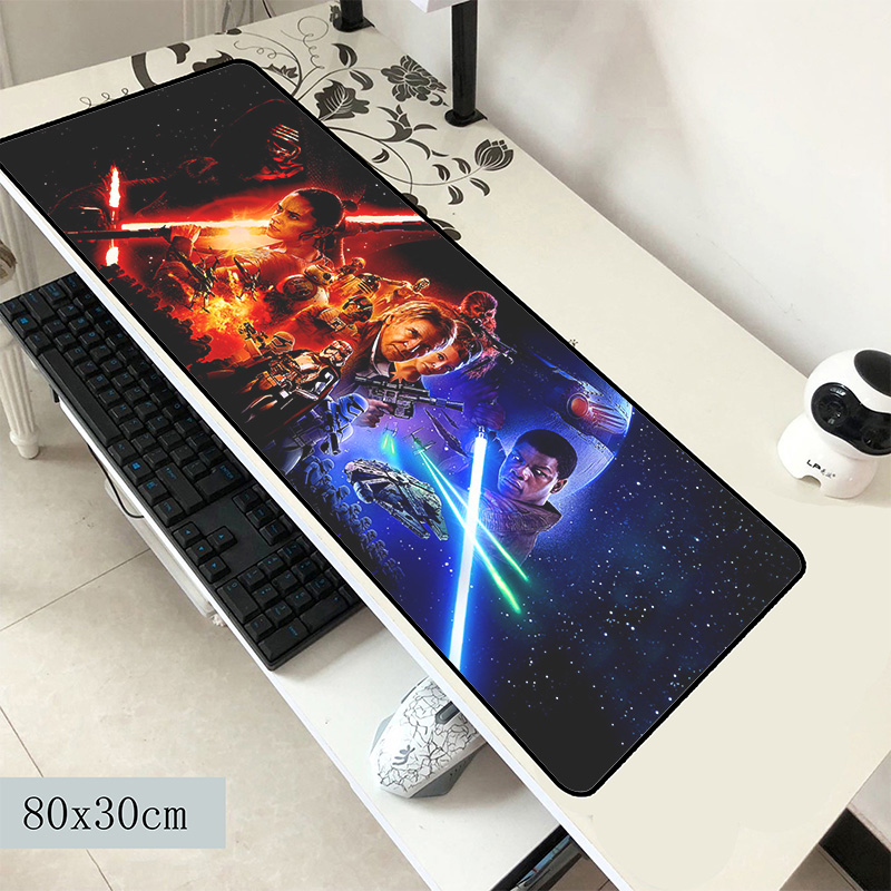 star wars pad mouse Fashion computer gamer mause pad 800x300x2mm padmouse cool new mousepad ergonomic gadget office desk mat|Mouse Pads| |  -