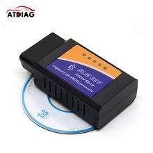 2021 Mini ELM327 Bluetooth OBD2 V 2,1 Auto Diagnose Interface ULME 327 OBDII Smart Wireless Scanner