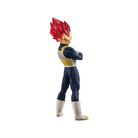 """""""Dragon ball super"""" bandai original de alta qualidade real figura gashapon brinquedo 01-conjunto de um 4 peças vegeta goku gogeta freeza"""