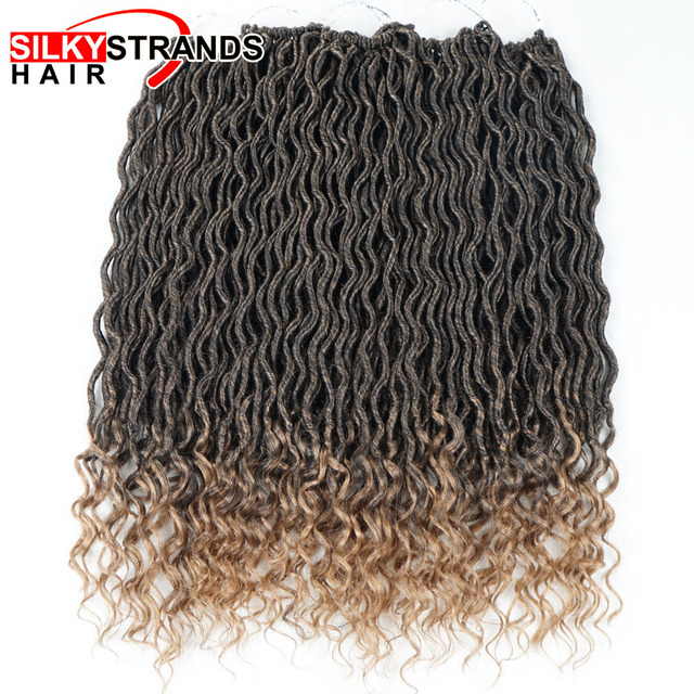 Aliexpress Buy Silky Strands Goddess Locs Crochet Hair